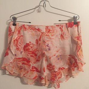 BCBG Floral Shorts